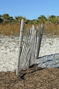 Beach Fence Royalty Free Stock Photos