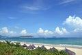 Beach on hainan island china sanya yalong bay may Stock Image