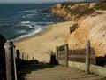 Beach at Half Moon Bay Royalty Free Stock Photos