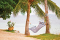 Beach Hammock Stock Photos