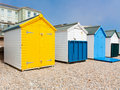 Beach Huts Royalty Free Stock Photos