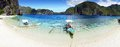 Beach at Island. El Nido, Philippines Royalty Free Stock Photography
