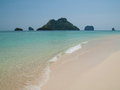 Beach and islands in the Andaman Sea Royalty Free Stock Image