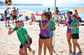 Beach Korfball Tournament Royalty Free Stock Photography