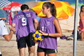 Beach Korfball Tournament Royalty Free Stock Photos