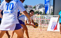 Beach korfball tournament photography from didim international took place in didim turkey during august september with Stock Photography