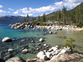 Beach At Lake Tahoe