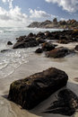 Beach of llandudno cape town a suburb south africa Stock Photo