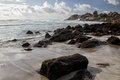 Beach of llandudno cape town a suburb south africa Stock Photography