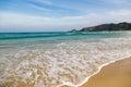 Beach mole praia mole in florianopolis santa catarina brazil beautiful blue water and sky Stock Photos