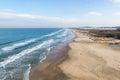 Beach mole praia mole in florianopolis santa catarina brazil beautiful blue water and sky Stock Photography