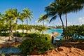 Beach at Paradise Island, Bahamas Royalty Free Stock Photo