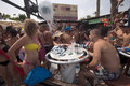 Beach party, Agia Napa, Cyprus Royalty Free Stock Photo