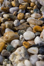 Beach pebbles Stock Images