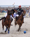 Beach Polo 01 Stock Image