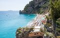 Beach of positano costiera amalfitana italy view a near amalfi coast Stock Photos