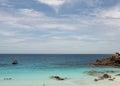 Beach at the pulau redang malaysia beacih is taken Royalty Free Stock Images