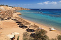 Beach on Red Sea, Sharm el sheikh Stock Images