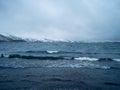 Beach reykjavik black in raykjavik iceland Royalty Free Stock Photography