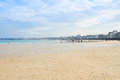 Beach of Saint-Malo, Brittany, France Stock Photos