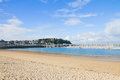 Beach of saint malo brittany france atlantic coast at Stock Photos