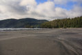Beach at san josef bay bc on the west coast of vancouver island Stock Photo
