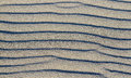 Beach sand texture close up Stock Images