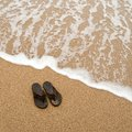 Beach sandles Royalty Free Stock Photography