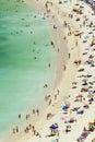 Beach Scene, Aerial View