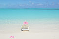 Beach scene exuma bahamas islands Royalty Free Stock Photo