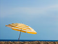 The beach scenery from at sunny day Stock Photo