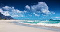 Beach of south africa clifton cape town paradise luxury tropical resort panoramic seascape sunny day summer holiday and Stock Photo