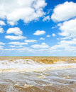Beach after the storm Royalty Free Stock Photo