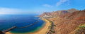 Beach Teresitas in Tenerife - Canary Islands Stock Photos