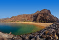 Beach Teresitas in Tenerife - Canary Islands Stock Images
