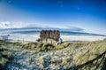 Beach Tiki Hut Bar on the Ocean Royalty Free Stock Photo