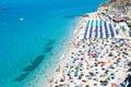 Tropea beach Calabria Royalty Free Stock Photo