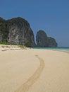 Beach tropical island ko lao liang thailand Stock Image
