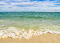 Beach and tropical sea beautiful Stock Image
