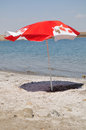 Beach umbrella. Stock Image