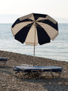 Beach umbrella Stock Image