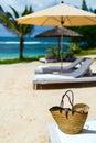 Beach vacation details
