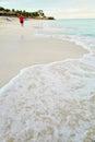 The beach of Varadero in Cuba Royalty Free Stock Photo
