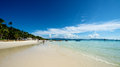 Beach view in Boracay Royalty Free Stock Photo