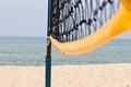 Beach volley net Royalty Free Stock Photo