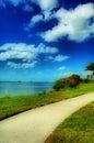 Beach Walkway Royalty Free Stock Photo