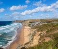 Beach Watergate Bay Cornwall England UK Cornish north coast between Newquay and Padstow Royalty Free Stock Photo