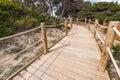 Beach way to Salinas beach in Formentera Royalty Free Stock Photo
