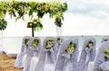 Image : Beach wedding golden day