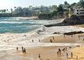 Beaches and Coves, Laguna Beach California Royalty Free Stock Photo